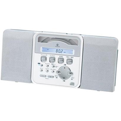 共IZUMI SAD-4336-W(白)立体声CD系统