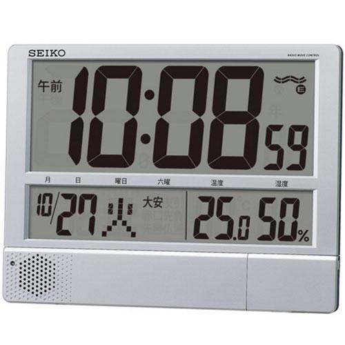 セイコー SQ434S 電波置時計