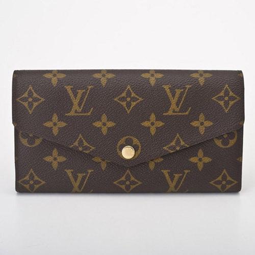 LOUIS VUITTON M60531 モノグラム ポルトフォイユ・サラ 長財布
