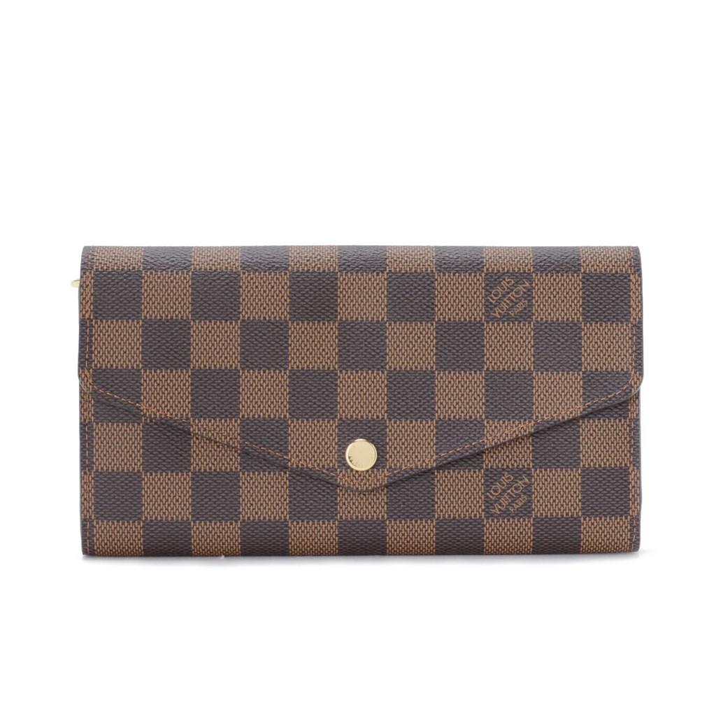 LOUIS VUITTON N63209 ダミエ ポルトフォイユ・サラ 長財布