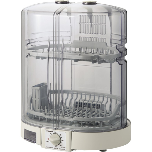 在庫あり 評価 14時までの注文で当日出荷可能 象印 EY-KB50-HA グレー 食器乾燥機 5人用 現金特価