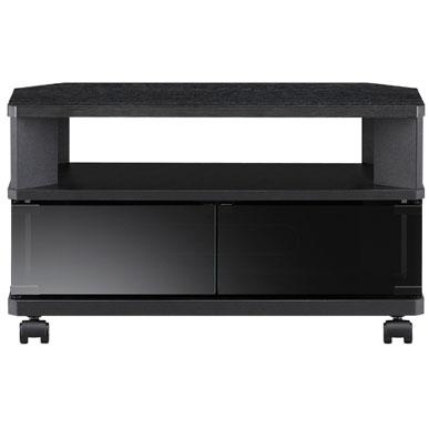 【設置】朝日木材加工 AS-CN600-B(ブラック) テレビ台 ~26V型