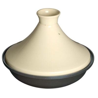 ストウブ IH対応 タジン鍋 セラミックドーム 28cm 40509-395(白) 【国内正規品/生涯保証付】