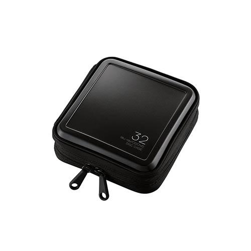 エレコム CCD-HB32BK ブラック Blu-ray セール 32枚 毎日続々入荷 CD DVD対応ファスナーケース
