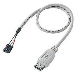 サンワサプライ TK-USB2 USB2.0ケーブル A-バラ4P