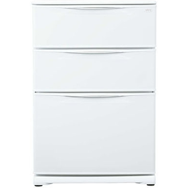 アクア(AQUA) 冷凍庫 124L AQF-12RE-W(クールホワイト)