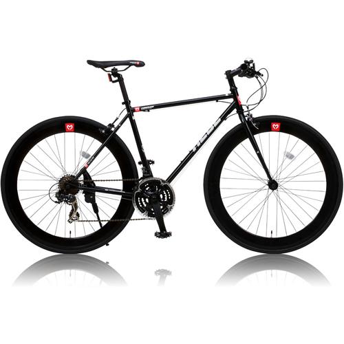 canover HEBE クロスバイク CAC-024 700×25C シマノ21段変速 ブラック