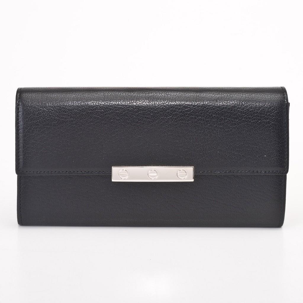 Cartier L3001375 ブラックLOVE 長財布
