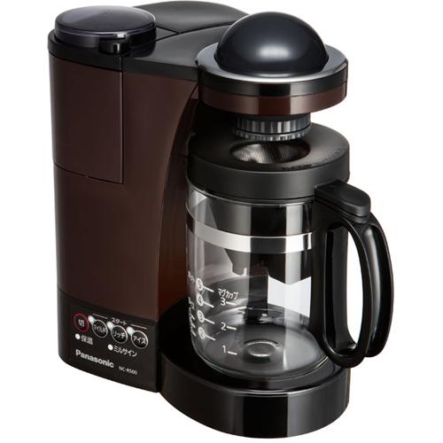【長期保証付】パナソニック NC-R500-T(ブラウン) ミル付き浄水コーヒーメーカー