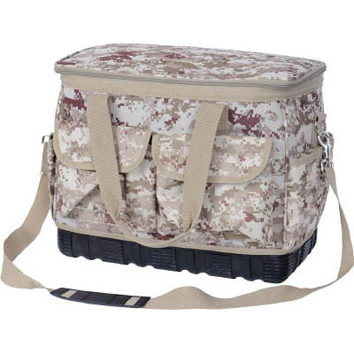 トラスコ中山 TCM-B21 デジタルデザート迷彩 箱形ツールバッグ