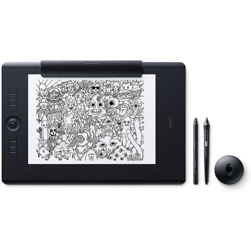 ワコム PTH-860/K1(ブラック) Intuos Pro ワイヤレス ペンタブレット Paper Edition Large