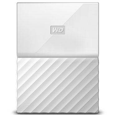 WesternDigital WDBYFT0040BWT-WESN(ホワイト) My Passport ポータブルHDD 4TB USB3.0接続