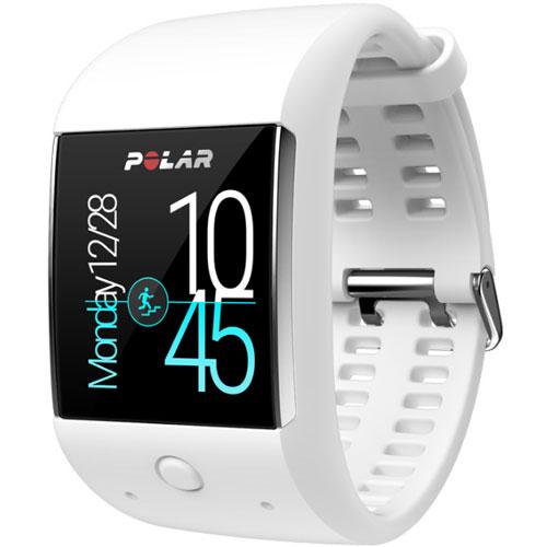 Polar 90063090(ホワイト) M600 GPS内蔵スポーツウォッチ 腕時計タイプ