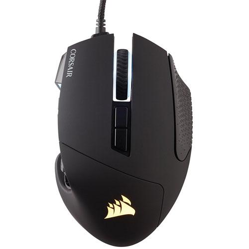 コルセア Corsair SCIMITAR PRO RGB CH-9304111-AP(ブラック) USB 有線オプティカルゲーミングマウス 17ボタン SCIMITARPRORG e-sports(eスポーツ) ゲーミング(gaming)