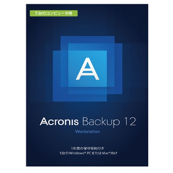 Acronis Acronis Backup 12 Workstation License incl.(5台用) AAS BOX Win