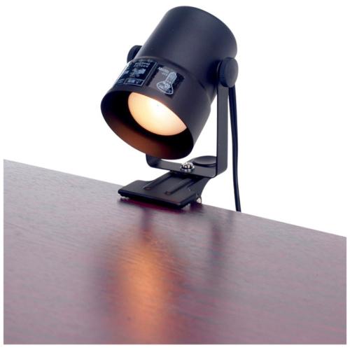 在庫あり 14時までの注文で当日出荷可能 お得 気質アップ エルパ SPOT-CR40-BK ブラック クリップライト クリップ型式