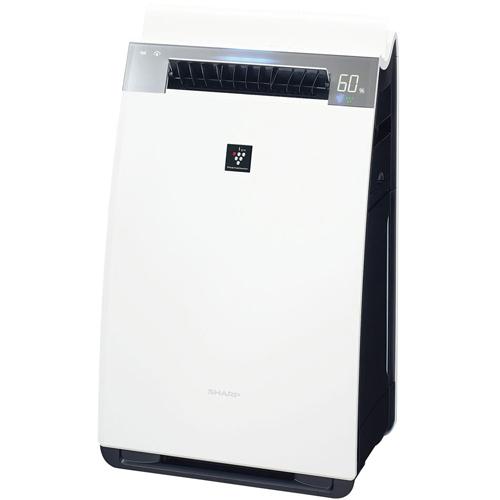シャープ KI-H75Y-X(ホワイト) 加湿空気清浄機 空気清浄34畳/加湿21畳