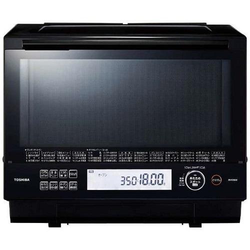 【長期保証付】東芝 ER-RD5000-K(ブラック) 石窯ドーム 過熱水蒸気オーブンレンジ 30L