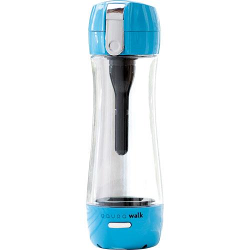 【長期保証付】ガウラ GR-JLB(ブルー) ポータブル水素水ボトル GAURAwalk(ガウラウォーク) 300ml GAURAWALKGRJLBひんやり 熱対策 アイス 冷感 保冷 冷却 熱中症 涼しい クール 冷たい