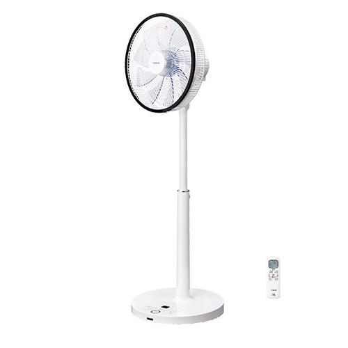 【長期保証付】東芝 F-DLY80-W(ホワイト) 30cmDCリビング扇風機 温度センサー リモコン付