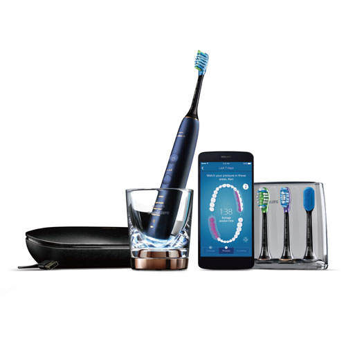 フィリップス ソニッケアー ダイヤモンドクリーンスマート 音波式電動歯ブラシ HX9954/55(ルナーブルー)