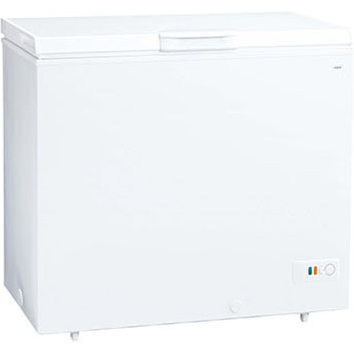 【設置+リサイクル(別途料金)+長期保証】アクア AQF-21CE-W(スノーホワイト) 冷凍庫 205L