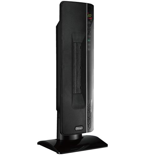 デロンギ TCH8993ERJS-BK(ブラック) セラミック タワー ファンヒーター
