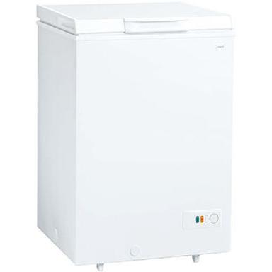 【設置+リサイクル+長期保証】アクア AQF-10CE-W(スノーホワイト) 冷凍庫 103L