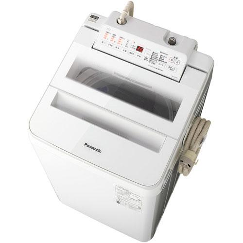 【設置+リサイクル(別途料金)+長期保証】パナソニック NA-FA70H7-W(ホワイト) 全自動洗濯機 上開き 洗濯7kg/乾燥2kg