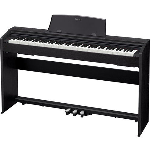 【設置+長期保証】CASIO PX-770-BK(ブラックウッド調) Privia(プリヴィア) 電子ピアノ 88鍵盤