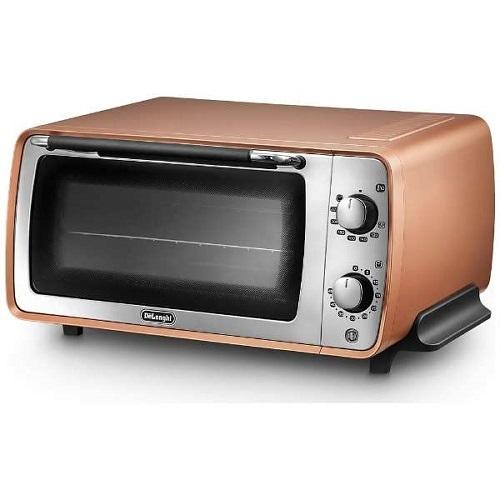 【長期保証付】デロンギ EOI407J-CP(スタイルコッパー) ディスティンタコレクション オーブン&トースター 1200W