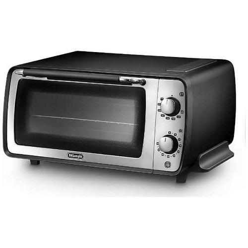 【長期保証付】デロンギ EOI407J-BK(エレガンスブラック) ディスティンタコレクション オーブン&トースター 1200W