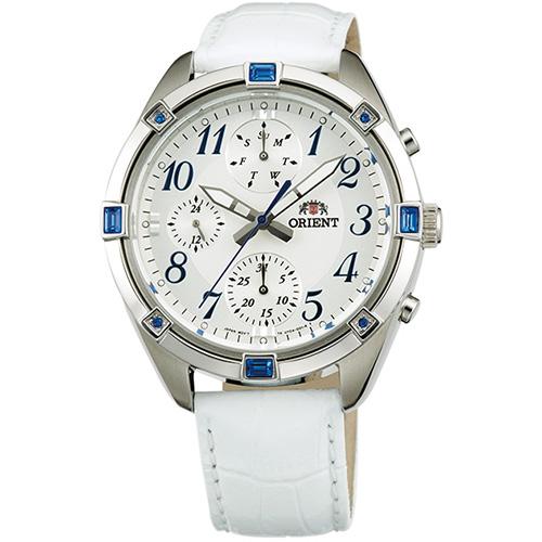 オリエント SUY04006W0(ホワイト) 海外モデル 日本製 クオーツ 腕時計 メンズ