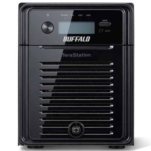 バッファロー WSH5411DN08W6 管理者・RAID機能搭載NAS 8TB 4ベイ