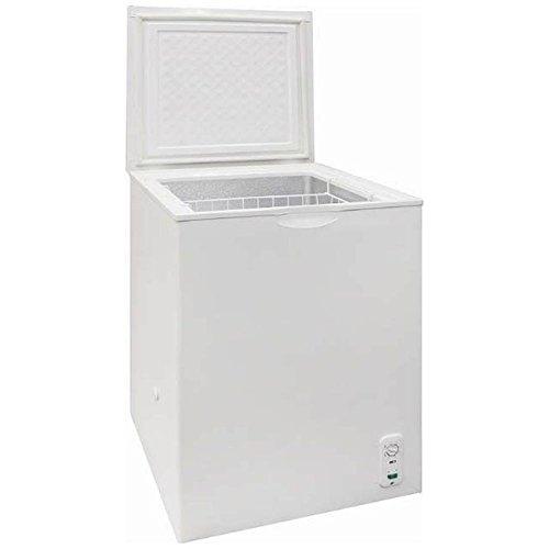 【長期保証付】SKJAPAN SFU-A100(ホワイト) 1ドア冷凍庫 上開き 95L
