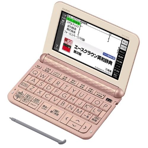 【長期保証付】CASIO XD-Z3800PK(ピンク) EX-word(エクスワード) 中学生モデル