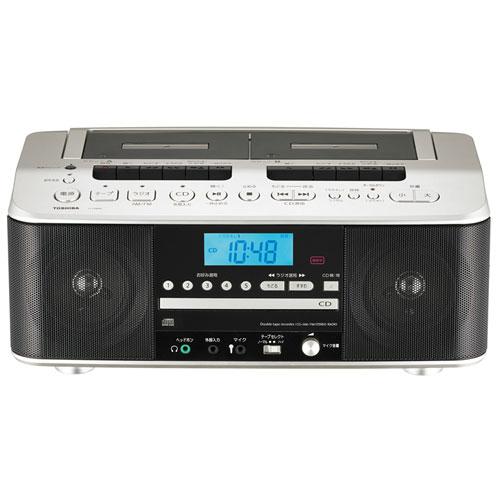 東芝 TY-CDW99-N(サテンゴールド) CDラジオカセットレコーダー ワイドFM対応