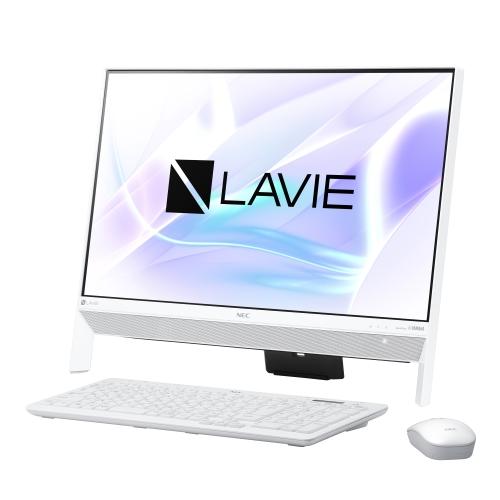 【長期保証付】NEC PC-DA350KAW(ファインホワイト) LAVIE Desk All-in-one 23.8型液晶