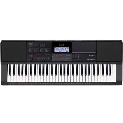 【長期保証付】CASIO CT-X700 ベーシックキーボード 61鍵盤