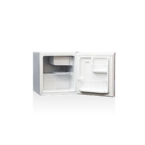 【設置+リサイクル(別途料金)+長期保証】SKJAPAN SR-A50(ホワイト) 1ドア冷蔵庫 右開き 45L