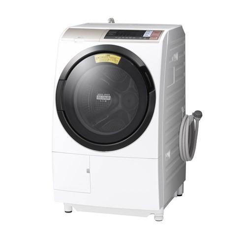 【設置】日立 BDT6001L(シャンパン) ビッグドラム ドラム式洗濯乾燥機 左開き 洗濯10kg/乾燥6kg