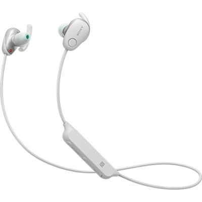 【長期保証付】ソニー WI-SP600N-W(ホワイト) ワイヤレスノイズキャンセリングステレオヘッドセット