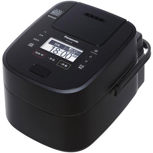 【長期保証付】パナソニック SR-VSX108-K(ブラック) Wおどり炊き スチーム&可変圧力IHジャー炊飯器 5.5合