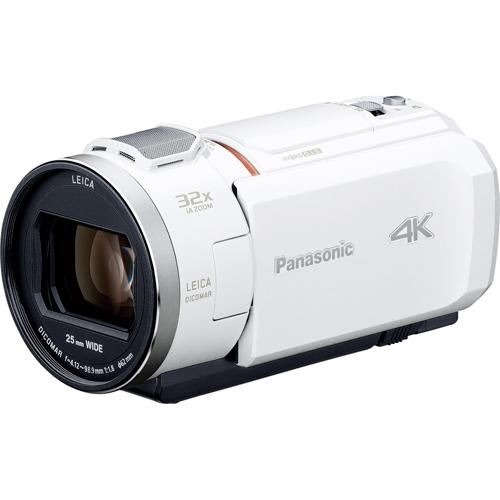 パナソニック HC-VX1M-W(ホワイト) デジタル4Kビデオカメラ 64GB