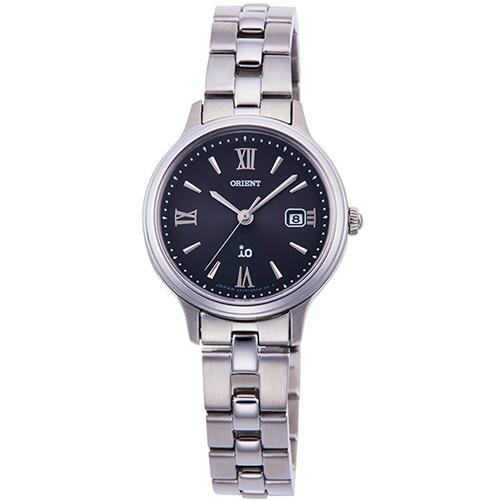 【長期保証付】オリエント RN-WG0008B(ブラック) イオ ライトチャージ 腕時計 レディース