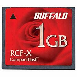 バッファロー RCF-X1GY コンパクトフラッシュカード 1GB