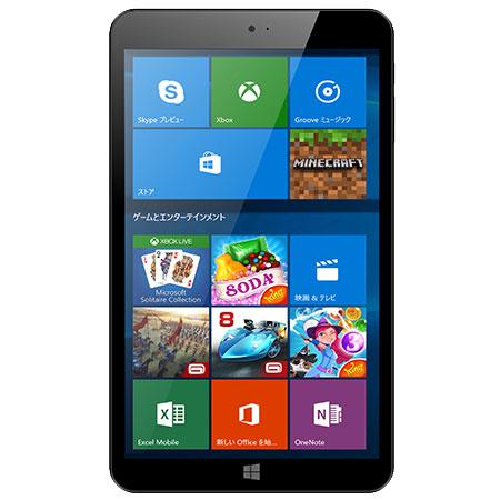 【長期保証付】KEIAN KI8-BK(ブラック) Wiz Windowsタブレット 32GB WiFiモデル 8型