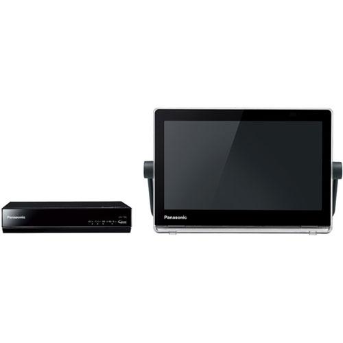 【長期保証付】パナソニック UN-10CT8-K(ブラック) プライベート・ビエラ HDDレコーダー付ポータブルテレビ 10V型