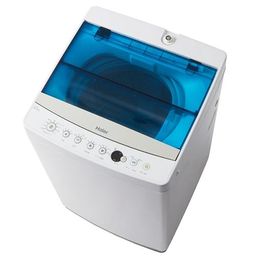 【設置+長期保証】ハイアール JW-C60A-W(ホワイト) Haier Live Series 全自動洗濯機 上開き 洗濯6.0kg/乾燥2.5kg