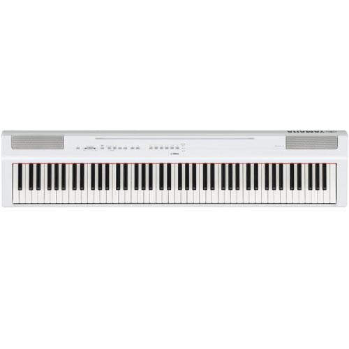 【長期保証付】ヤマハ P-125-WH(ホワイト) 電子ピアノ Pシリーズ
